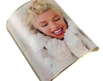 Marilyn Monroe 24k Plated Cuff - Winter