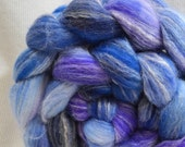 SALE 30% OFF  Yarn Hollow Hand Dyed Merino Superwash Bamboo Nylon - Panda - Blueberry Life Multi Color