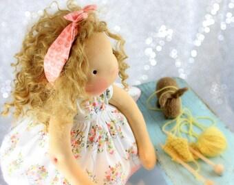 """Custom Waldorf doll 16""""  for Aditty- Sam"""