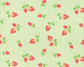 Sundrops - Rosebuds in Celery Green: sku 29012-18 cotton quilting fabric by Corey Yoder for Moda Fabrics - 1 yard