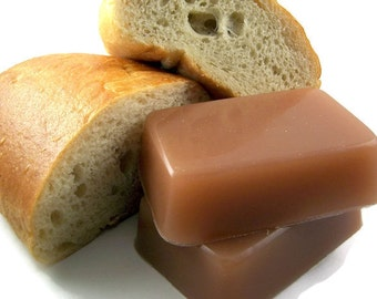 Fresh Baked Bread Soap, Bread Scented Soap