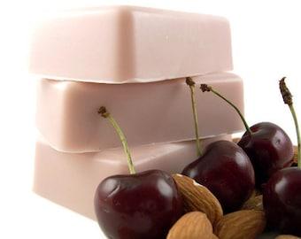 Cherry Almond Soap Bar, Bar Soap, Moisturizing Soap