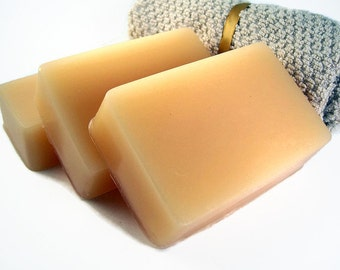 Clearance Sale, Honey Apricot Soap, Homemade Honey Soap