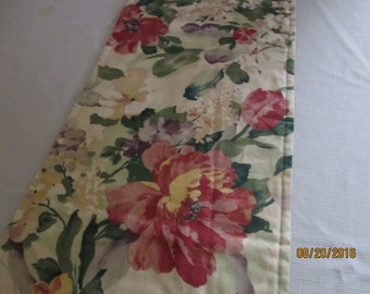 Table runner, floral, dining room, home and living, kitchen and dining, dining room, kitchen, table, home decor, bedroom, dresser scarf