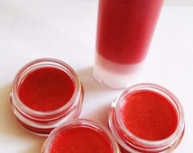 Natural Lip Tint Raucous Reds Collection -  Sheer natural tinted lip balms