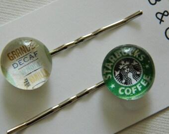 Hair Pretty Bobby Pins - No. 03 Starbucks Addict