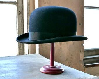 Wormser Bowler Hat Size 7-1/8
