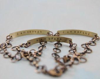 secret message bracelet