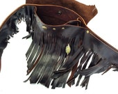 Leather Fringe Belt Bag - Shi Pocket Belts