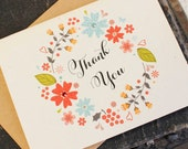 Folded Thank You Card - Design Fee