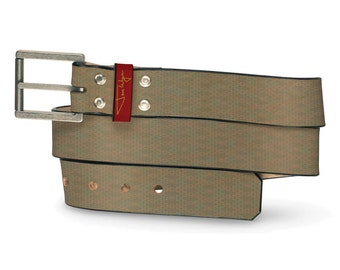 Murp Leather Belt, Pattern Belt, Leather Belt Crazy Funny Humor