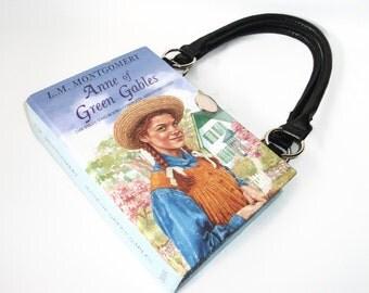 Anne of Green Gables Book Purse Upcycled Handbag Bag