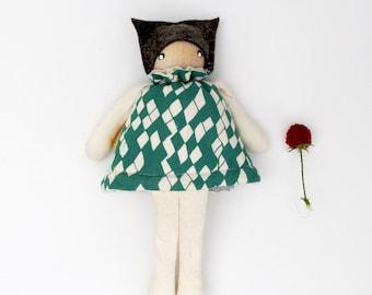 Tundra-Snowy Owl- mini flip doll