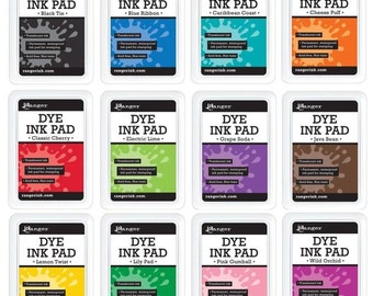 Ranger Dye Ink Pad SET OF 12 RDP12PADSET