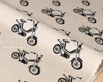 Japanese Fabric Kokka Echino Nico - Motorbike - black - 50cm