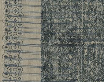 Nani Iro Kokka Japanese Fabric ori-some linen - koiai - 50cm