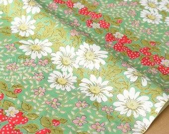 Japanese Fabric - Yuwa daisy lawn - E - 50cm