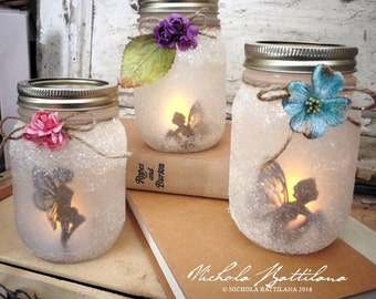 Pint Sized Fairy Jar Lantern