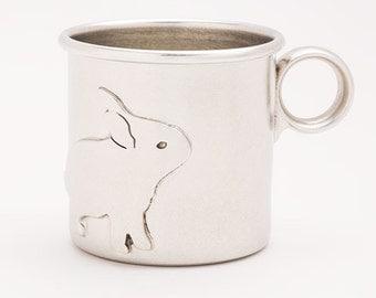 beehive baby cup - rabbit
