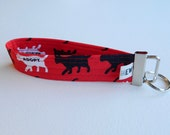 Rescue Adopt Cats Key Fob For Mew