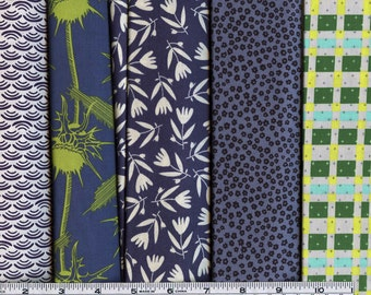 WHOLESALE PRICING! Quilting Fabric Bundle Blues and Greens