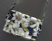 Cross Body Bag or Purse Indigo Nature Fabric
