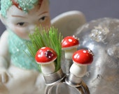 On Hold For Amy Fairy Circle Toadstool Stacking Rings Do Not Buy