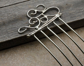 Clef Note Hair Comb