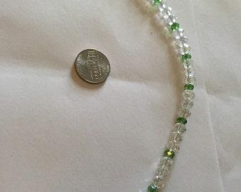 8-9 wrozt size Swarovski crystal bracelet