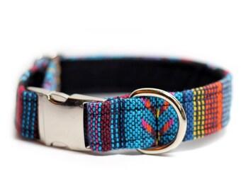 Tribal Collar - Aztec, woven collar, Osage