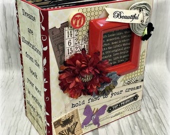 DREAM All Occasion Scrapbook Scrapbooking Chipboard Album