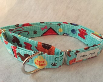 Bones and Toys Martingale Collar