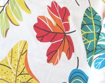 Bright Foliage - IKEA Jonill Linen / Cotton Blend Fabric
