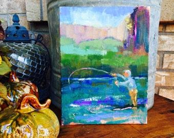Oil painting, fine art, original fine art