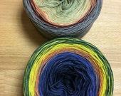 4-ply Custom Gradient Tweed