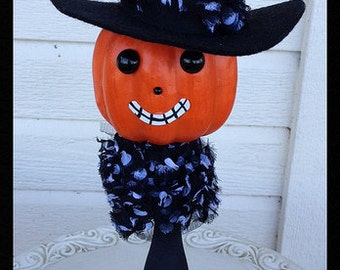 Halloween Decoration Witch Jack o Lantern Halloween Ornament Halloween Decor