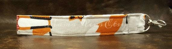 READY To SHIP Foxy B Wristlet Keychain