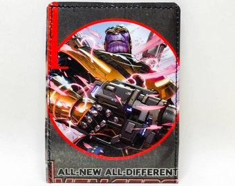 Sewn Comic Book Wallet - Avengers Civil War - Thanos