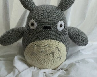 Crochet Totoro plush toy, Anime, gift for student, gift idea, gift for kids, geeky