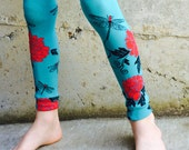 Leg - Arm Warmers for Boys and Girls - Dragonflies and Peonies Design for Baby, Toddler, Kid and Tween - Great Baby Shower or Birthday Gift