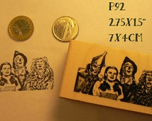 Wizard of Oz rubber stamp P92