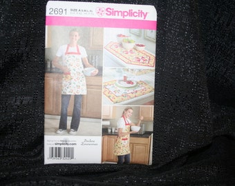 Simplicity 2691  Kitchen Essentials Sewing Pattern SEWBUSY12