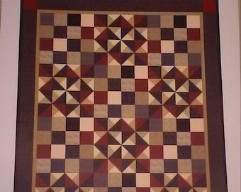 Tumbleweeds Quilt Pattern