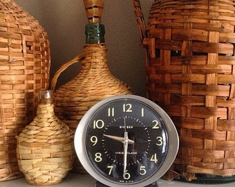 Tick Tock... Vintage Big Ben Westclox Alarm Clock Mid Century Modern Works Like A Charm