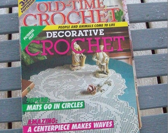 Crochet,Magazines,Patterns,Fiber Arts,Crafts,Supplies,
