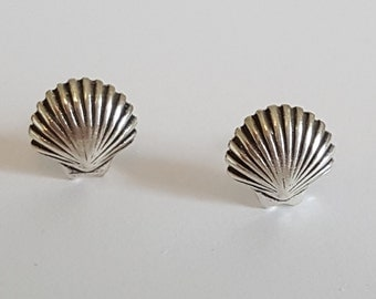 Sterling Silver Clam Posts