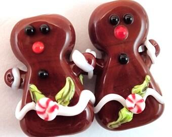 Gingerbread Ladies Earring Pair