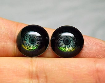 New! Doll eyes 14mm AD Fireglow color Asteroid