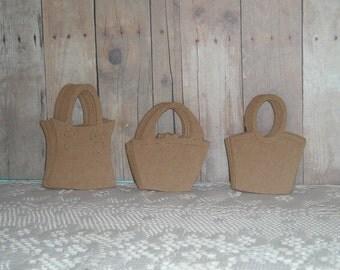 Kraft Tags, Purse, Handbag, Set of (30), Heavyweight
