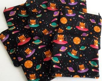 Space Cats Zipper Pouch - Coin Purse